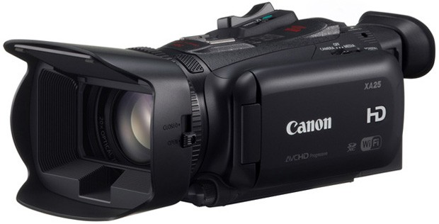 Canon outs VIXIA HF G30 camcorder with highgrade optics, XA20 and XA25 for pros