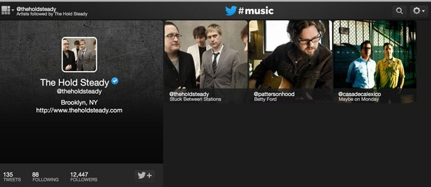 Twitter #Music app hands-on (iOS and web)