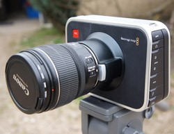 IRL Bluelounge Messenger and the Blackmagic Cinema Camera