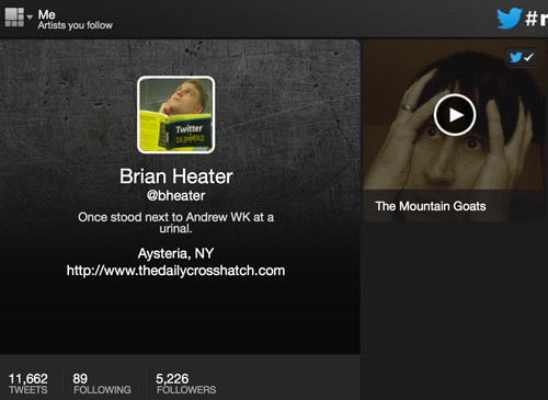 Twitter's #Music app for browser, iOS handson