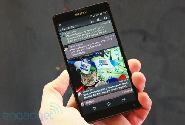 Sony Xperia ZL review a giant phone in a compact frame