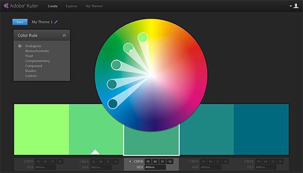 Adobe Kuler Color Selection IPhone App Is Now Available