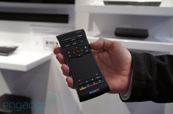 Sony's Google TV box gets a refresh, NSZGS8 adds voice search ready remote