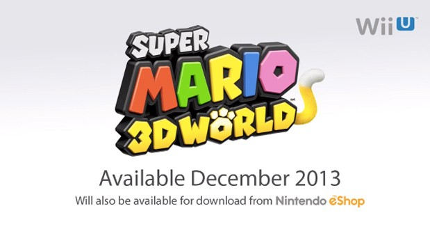 Super Mario 3D World announced for Wii U, coming this December