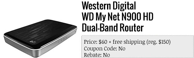Slickdeals' best in tech for June 3rd APC Battery Backup and Western Digital My Net N900 dualbandrouter