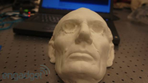 DNP 3D scanning with the Smithsonian's laser cowboys video