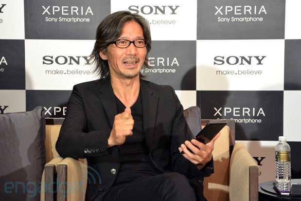 Sony's Jun Katsunuma on the inspiration for Xperia Z Ultra's design