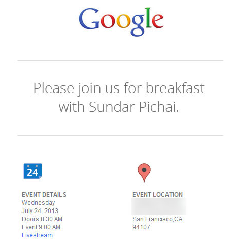 Google set to host press event July 24th featuring Sundar Pichai