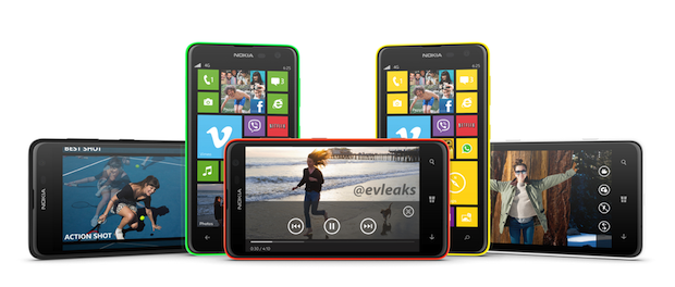 Nokia Lumia 625 leaked, suggests 47inch display, 12GHz dualcore CPU, 5megapixel cam and LTE update