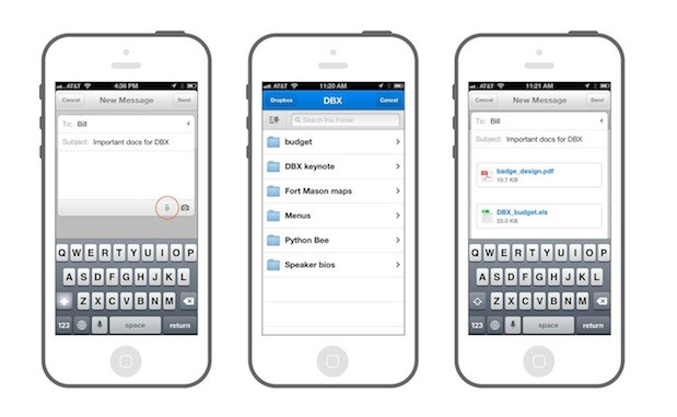 Dropbox announces the Dropbox Platform, syncing with thirdparty apps, Mailbox integration