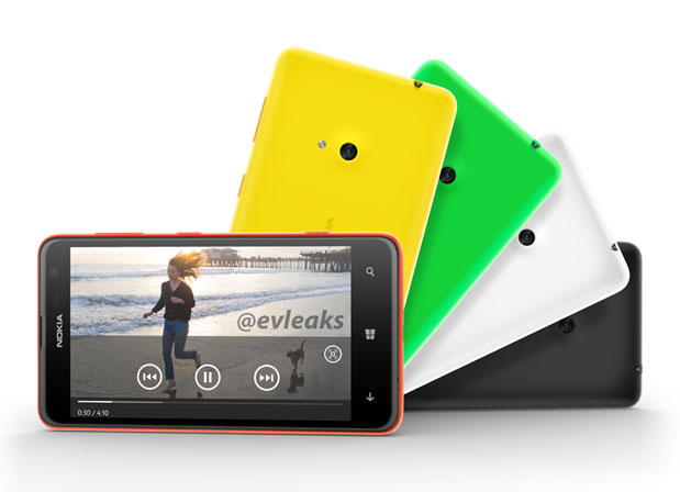 Nokia Lumia 625 leaked, suggests 47inch display, 12GHz dualcore CPU, 5megapixel cam and LTE