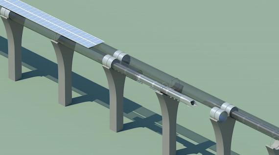 Elon Musk details Hyperloop public transit via aluminum pods and electric motors
