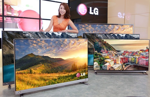 In Korea, Samsung's curved OLED TV drops price by a third while LG brings cheaper 4K TVs
