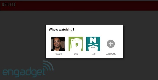 Netflix individual profile rollout brings up to five unique