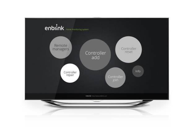 Enblink turns any Google TV device into a home automation control center