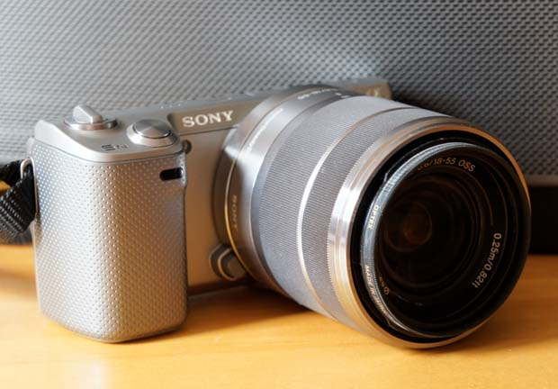 IRL Sony's NEX5N interchangeable lens camera and Mailplane 3