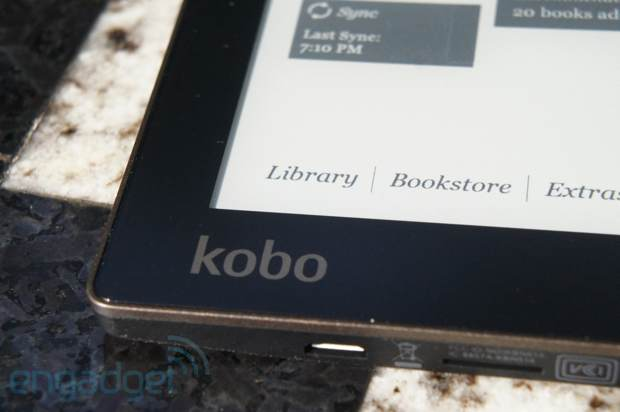 DNP Kobo Aura review a midsize luxury ereader with a price to match