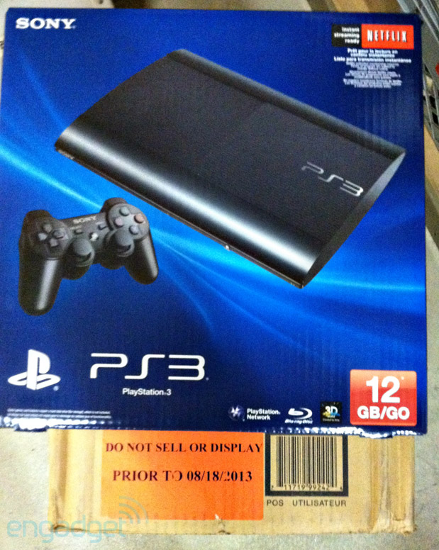 12GB flashbased PlayStation 3 on sale in North America, despite Sony's prior claims