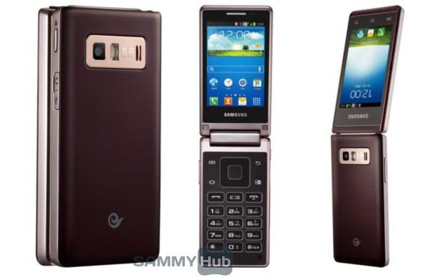 Another Samsung flipphone leaks out the Hennessy, with dual 480 x 320 displays