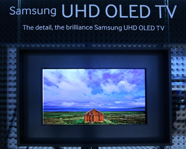 Samsung shows off 98, 110inch Ultra HDTVs at IFA 2013, teases 4K OLED