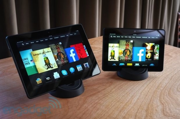 Amazon debuts Kindle Fire HDX 7- and 8 9-inch tablets, we go hands