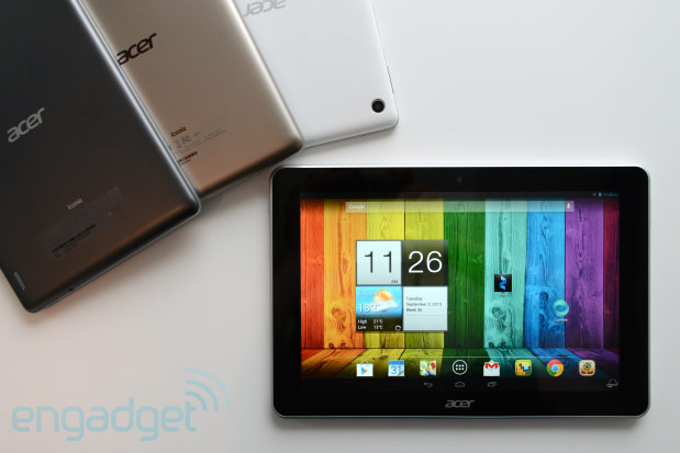 Acer 101inch Iconia A3 Android tablet handson