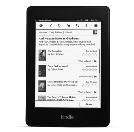 What's new in the new Kindle Paperwhite Better lighting, a faster chip and one big Amazon logo