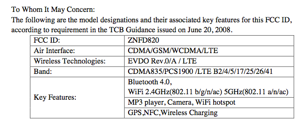 LG Nexus 5 makes probable appearance in FCC with pics and specs