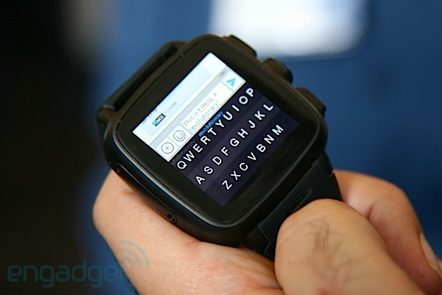 DNP Omate TrueSmart can be a standalone smartwatch, incorporates Fleksy keyboard for texting handson