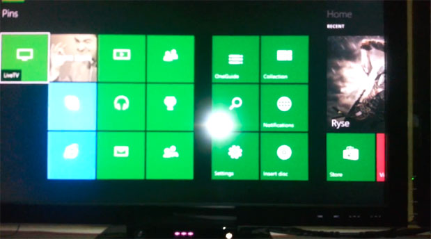 Xbox One's stillinbeta dashboard, multitasking previewed in video leak