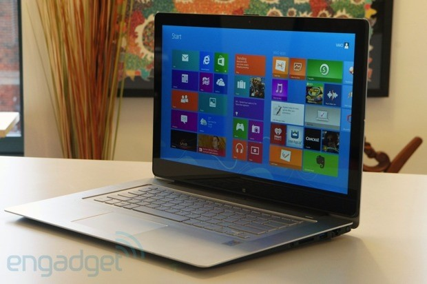 DNP Sony VAIO Flip 15 review