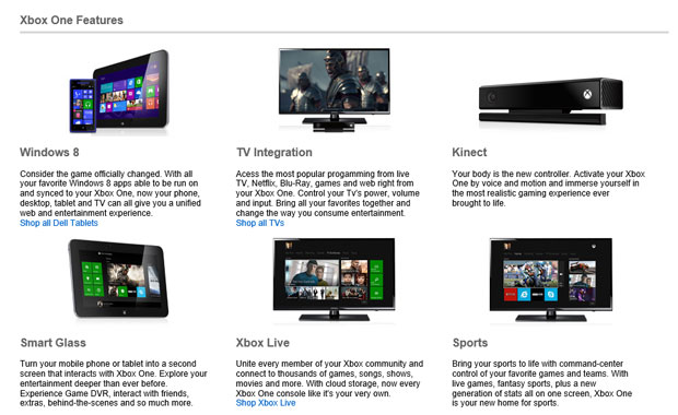 Windows 8 apps might sync and run on Xbox One, Dell website claims