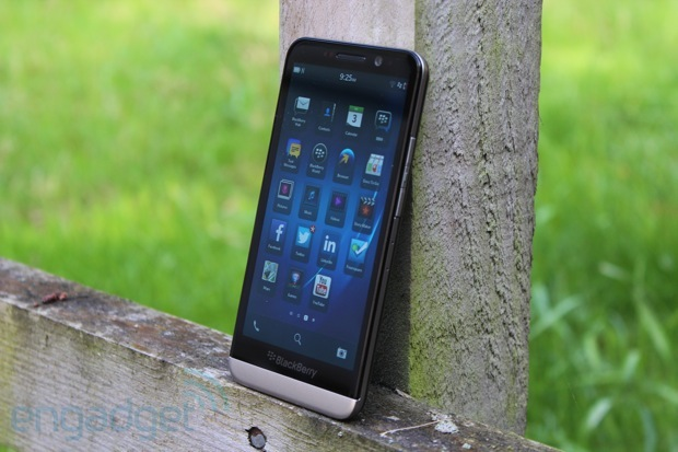 DNP BlackBerry Z30 review