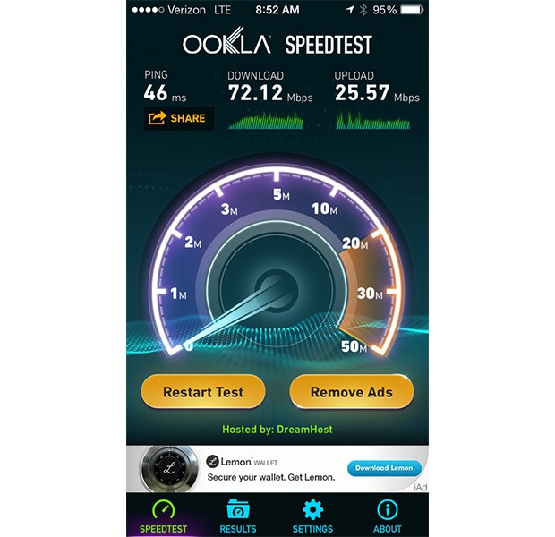 Verizon's LTE boosted in 'major markets' by new frequency, hits 80 Mbps down update