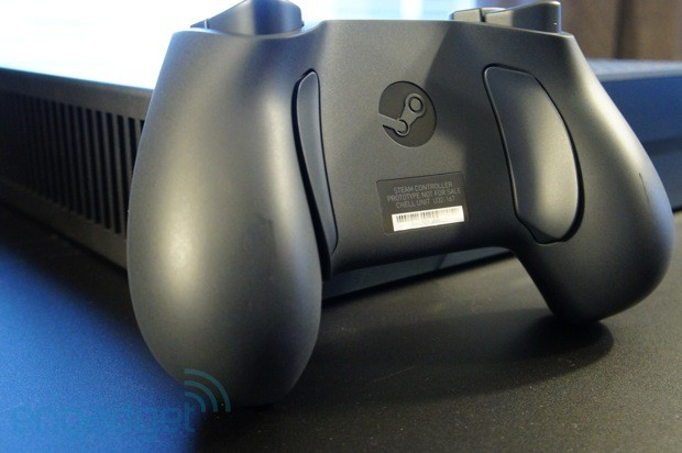 Valve's first hardware handson with the Steam Controller