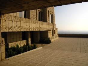 Frank Lloyd Wright's Ennis House in L.A.