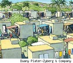 Andres Duany's housing plan for Haiti