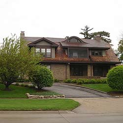Warren Buffett's house in Omaha, Nebraska