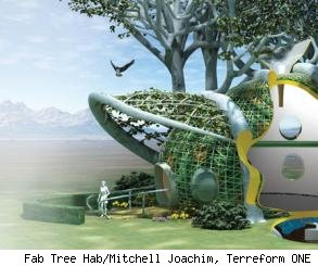 terreform ONE, fab tree hab, mitchell joachim