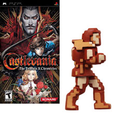 Pre-order Castlevania, get a free Belmont figure