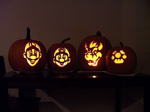 Joystiq Pumpkin Carving Contest Vote On The Finalists