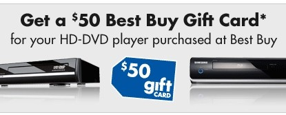 Best Buy Canada offers 'free' 360 HD DVD players