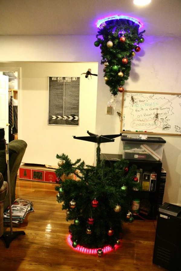 2 Christmas Tree.Portal Christmas Tree Doubles Our Holiday Cheer Engadget