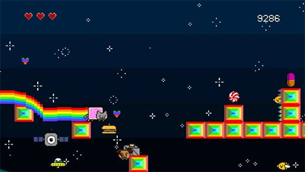 Nyan Cat Lost in Space - Free Online Games on CrazyGames.com