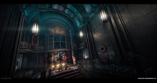 BioShock environments look gorgeous powered by CryEngine 3