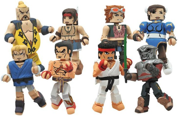 Street Fighter X Tekken Minimates coming this fall