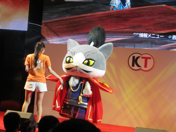 Seen Tokyo Game Show 2012 The purrfect presentation