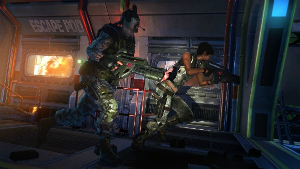 Xenomorphing in Aliens Colonial Marines and the excitement of Nintendo's commitment