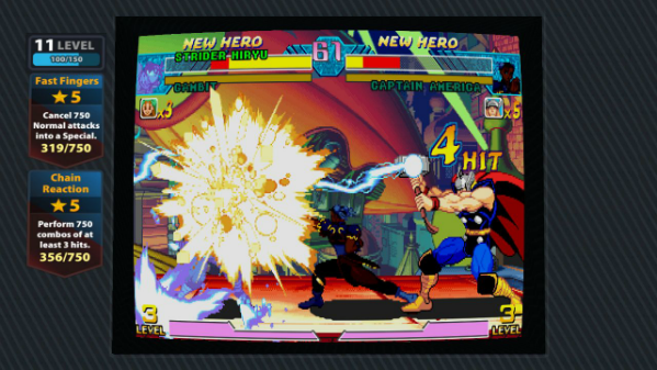 Deja Review Marvel vs Capcom Origins