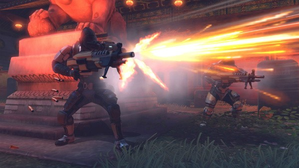 Assaulting an alien battleship as a Triad defector in XCOM Enemy Unknown's 'Slingshot' DLC